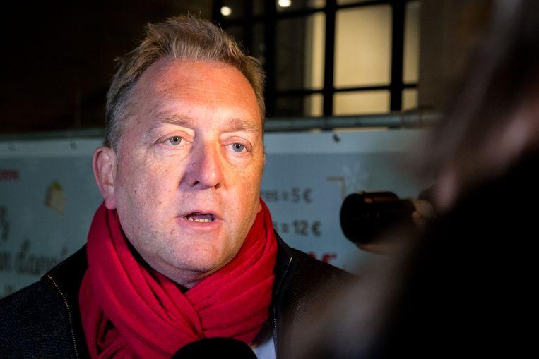 Marc-Jean Ghyssels, burgemeester van Vorst, maakte van de gelegenheid gebruik om het gebrek aan politiemensen in de hoofdstad aan de kaak te stellen.