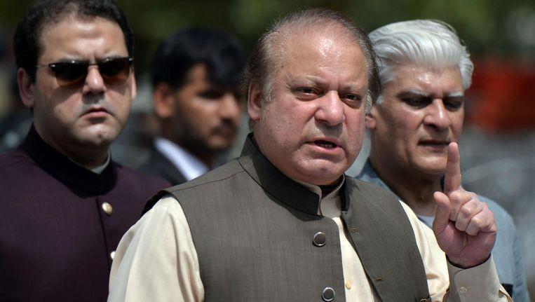Nawaz Sharif. Beeld anp