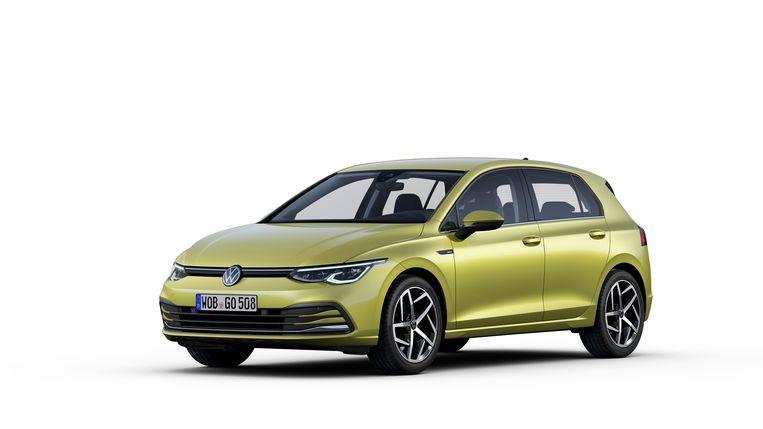 Volkswagen Golf 8, 2020 Beeld