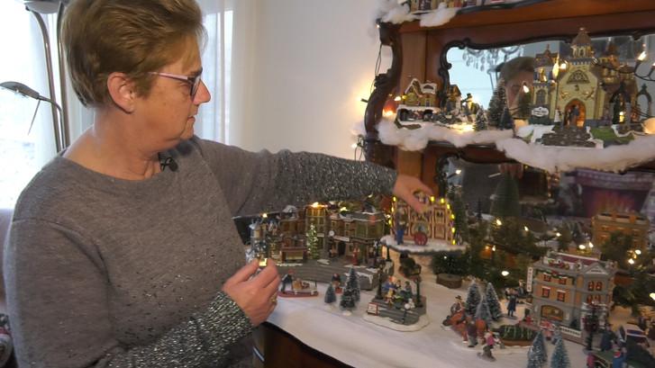 Wilma spaart al 50 jaar kerstspullen