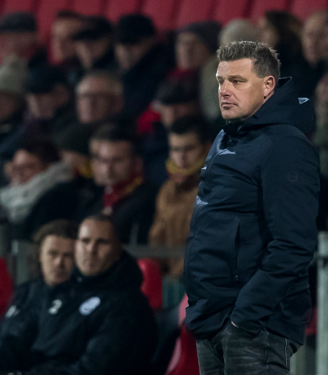 Stegeman verwijt zijn spelers niets na 0-0 tegen Den Bosch