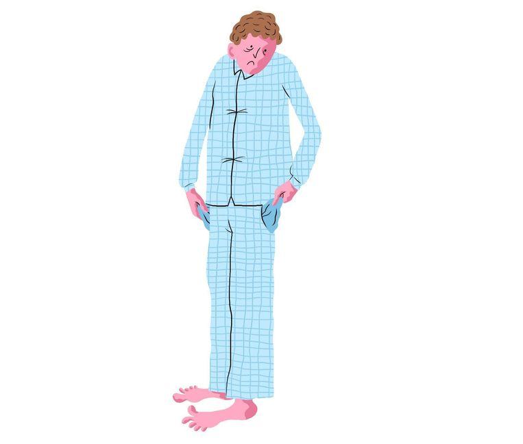 'Je kunt je doordeweekse slaapgebrek een beetje inhalen door in het weekend uit te slapen' Beeld Nanne Meulendijks