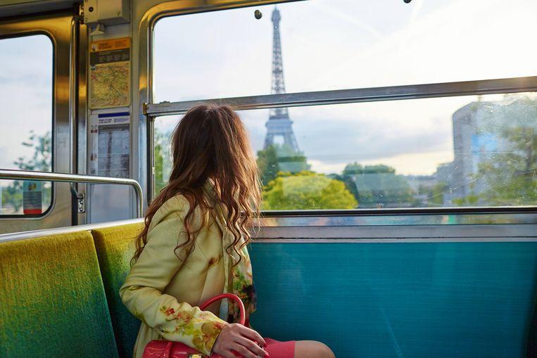 Treinreis door Europa.