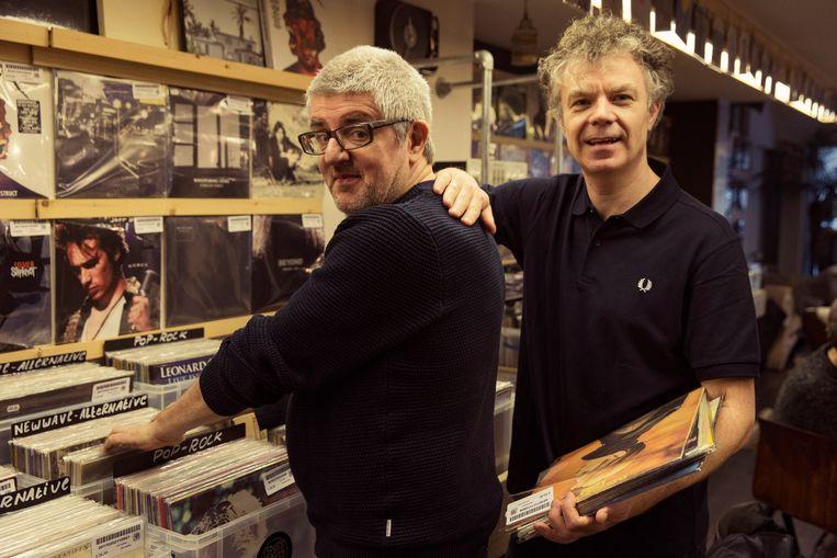 Jan Delvaux en Jimmy Dewit doken in de Roeselaarse muziekgeschiedenis.