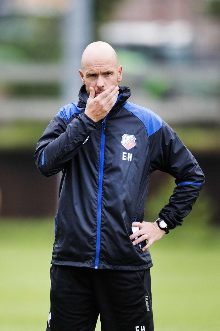 Trainer Eric ten Hag. Beeld anp