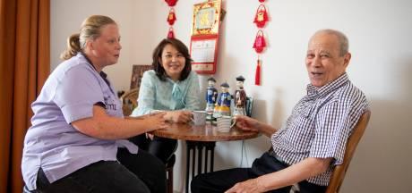 In zorgcentrum Het Weggeler praat men zonder elkaar te verstaan