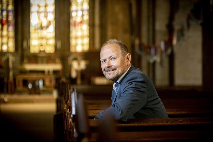 Patrick Welman, burgemeester van Oldenzaal,  hoopt dat de mensen dit weekeinde thuis van de zon genieten.