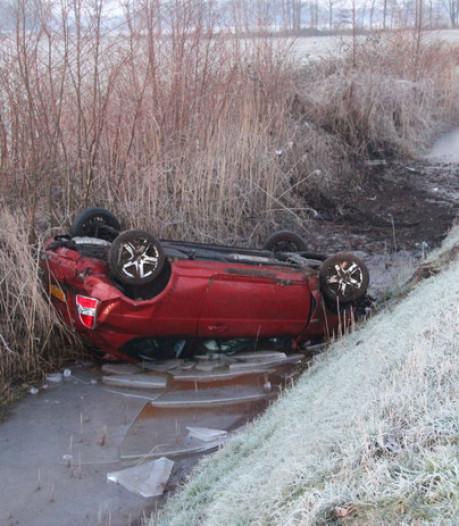 Verraderlijke gladheid in Twente: meerdere ongelukken