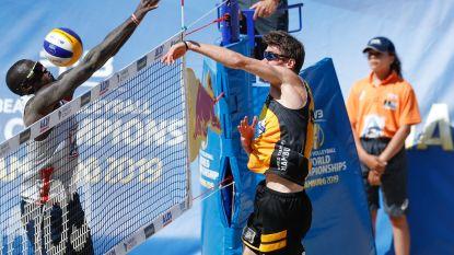 Koekelkoren en Van Walle na derde nederlaag uitgeschakeld op WK beachvolley