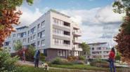 Nieuwe buurt met 238 appartementen en 60 huizen