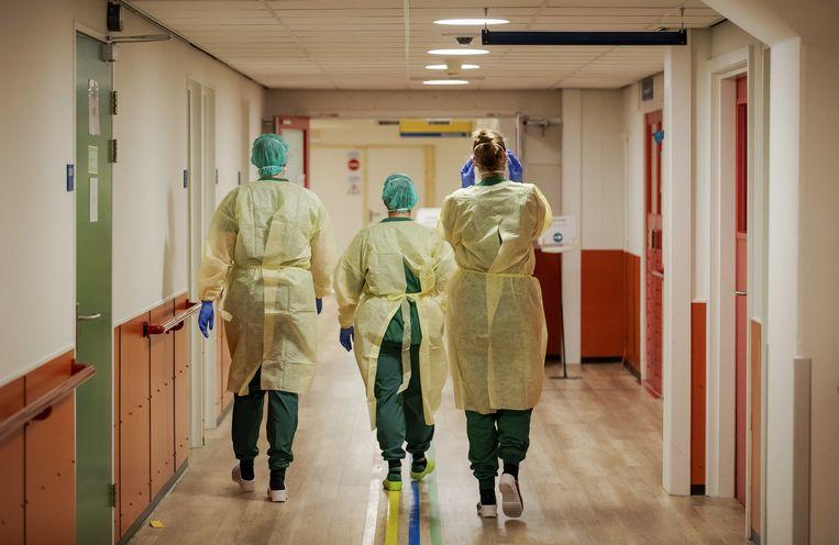 Medisch personeel in het UMC Utrecht. Beeld ANP