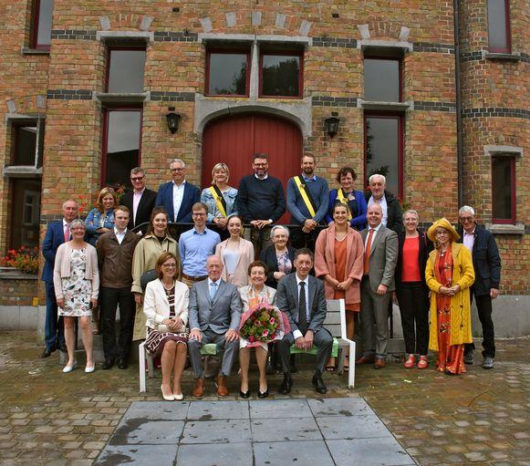 Paul Van Butsele en Diane Cierkens zijn zestig jaar getrouwd.