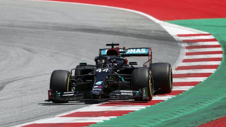 GP van Oostenrijk: vrije training 3