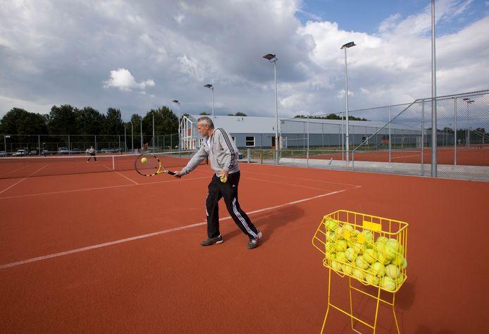 Het tenniscomplex van Keltenwoud op archiefbeeld.