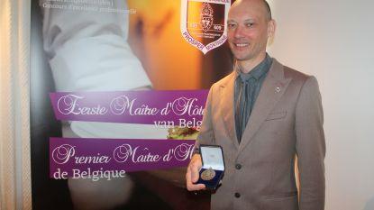 Andy De Brouwer van Les Eleveurs verkozen tot Eerste Maître d'hôtel van België