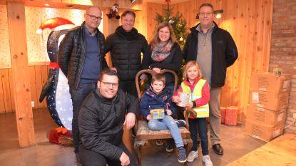 Ninoofse handelaars zorgen met 'Huisje van de Kerstman' voor beleving in Lavendelstraat