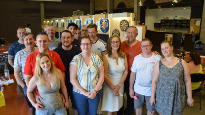 Darts Team Cyberdarts houdt demonstratie en initiatie tijdens open dartstornooi
