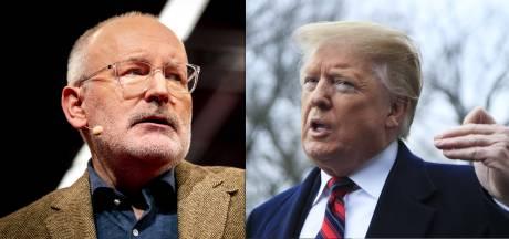 Timmermans op PvdA-congres over Trump: 'Hoe dom kun je zijn'