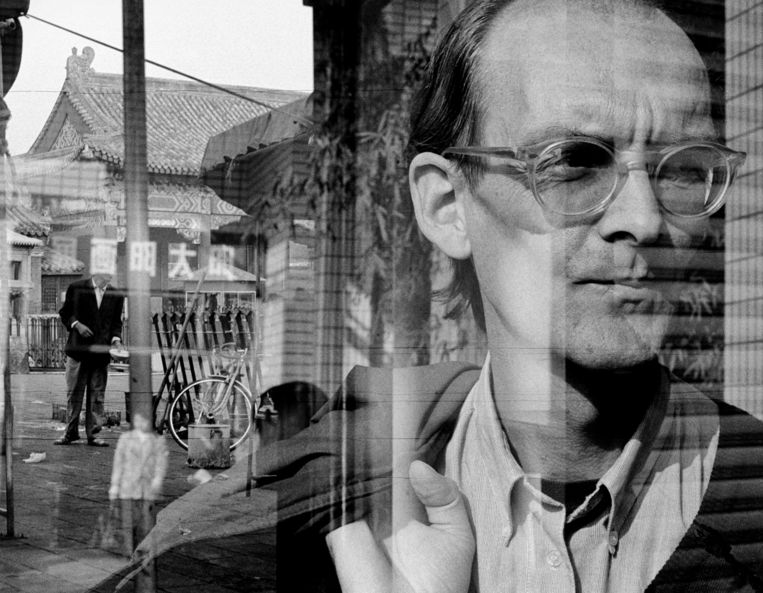 Hans van Dijk, alias 'Dai Hanzhi', in Beijing, 1993. Beeld Thomas Fuesser