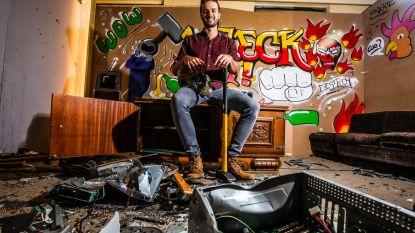 Brugse 'Rage Room' verhuist wegens populariteit naar groter pand in Wingene
