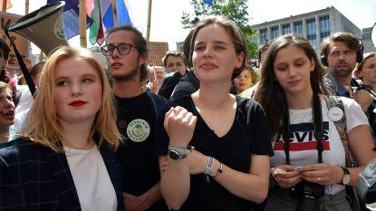 """""""Wat zei ik nu weer over de mond gesnoerd worden"""": Kyra Gantois ontzet over reactie van Youth for Climate in 'Vandaag'"""