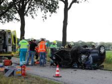 Vader en dochtertje gewond bij ernstige aanrijding Landhorst