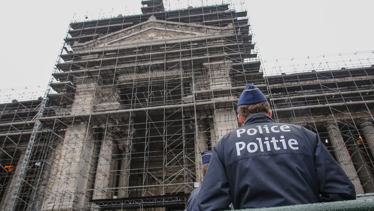 Het Brusselse justitiepaleis.