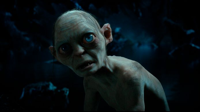 Het personage Gollum uit 'Lord of the Rings'.