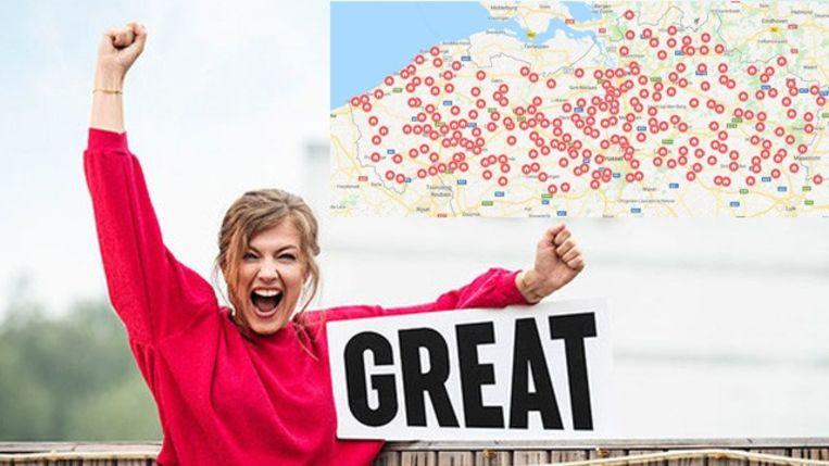 IN KAART: Massa-opkomst voor orgaanregistratie in heel Vlaanderen, in deze gemeenten kan je je nog laten registreren