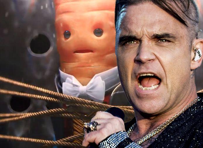 Robbie Williams laat zich horen voor Aldi