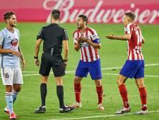 Atlético Madrid morst punten na wondergoal Celta de Vigo