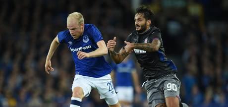 Everton zonder geblesseerde Klaassen naar Split