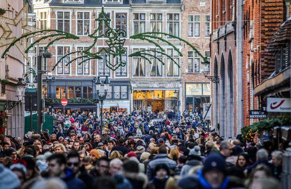Kerstshopping in Brugge: altijd een belevenis.