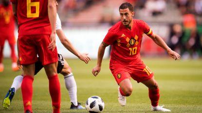 Onze Chef Voetbal ziet dat met déze Hazard veel mogelijk is en het ererondje op zijn plaats was