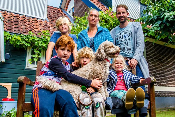 De familie Hofman van het 'gifhuis'.