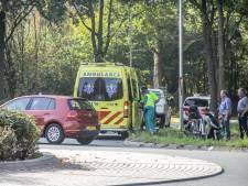 Brommerrijdster gewond na botsing met fietser in Ede