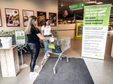 Besmettingsangst: één scholier de supermarkt in