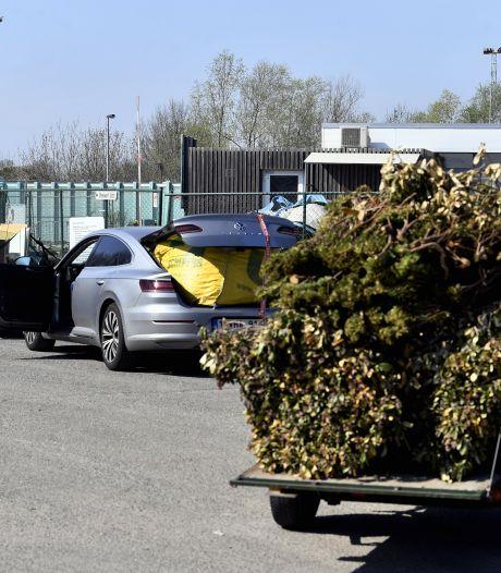 Le volume journalier de déchets qu'il est possible de déposer dans les recyparcs Intradel va doubler