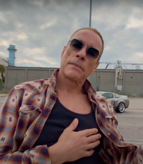 """JCVD irrésistible dans """"Ultrarêve"""", le nouveau clip d'AaRON"""