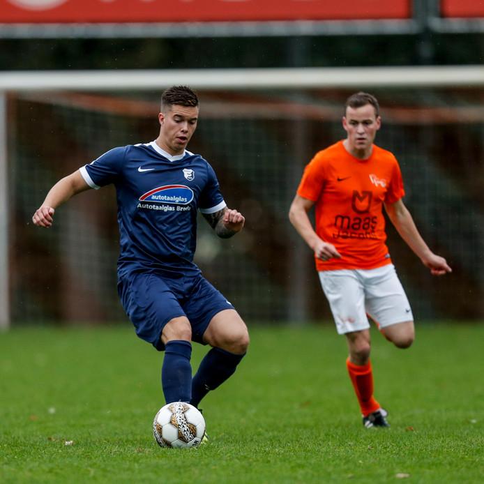 Thomas Marijnissen maakte op 't Heike zijn rentree op het voetbalveld.