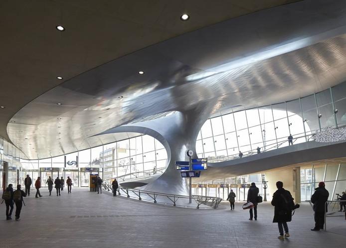 De OV Terminal van Arnhem Centraal. Foto Hufton+Crow