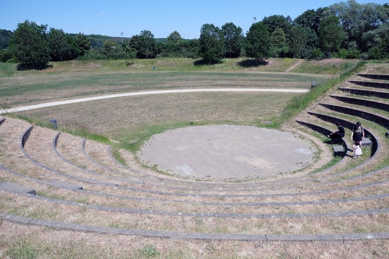 De heropening van de speeltuin in het provinciaal domein van Kessel-Lo