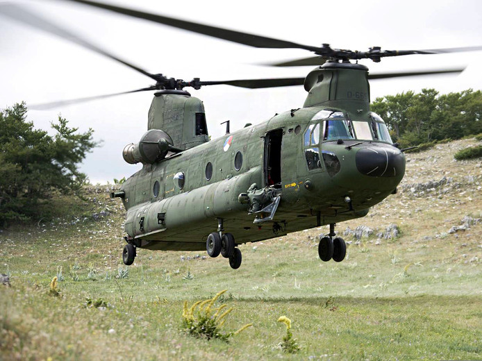 chinook helikopter