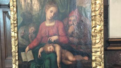 Diefstal van 'vermeende Michelangelo' werd gefilmd