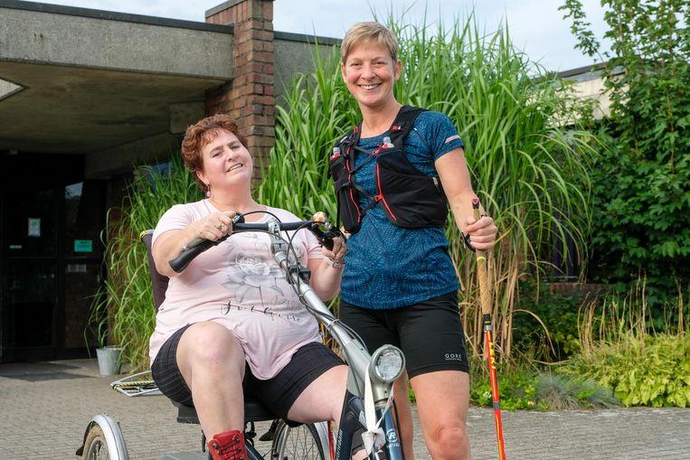 Ann Vanden Wyngaerd loopt de Trail van de Mont Blanc voor haar zus Christa.