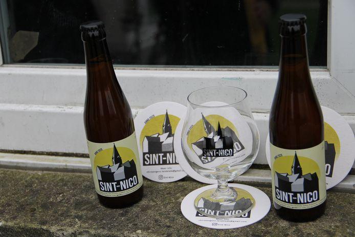 De chirojongens van Lendelede hebben met Sint-Nico hun eigen bier.