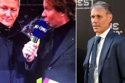 FOX Sports houdt Van Basten week van tv wegens 'Sieg Heil'
