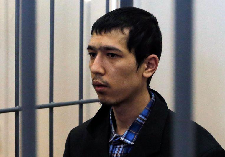 Abror Azimov (St.-Petersburg). Beeld EPA
