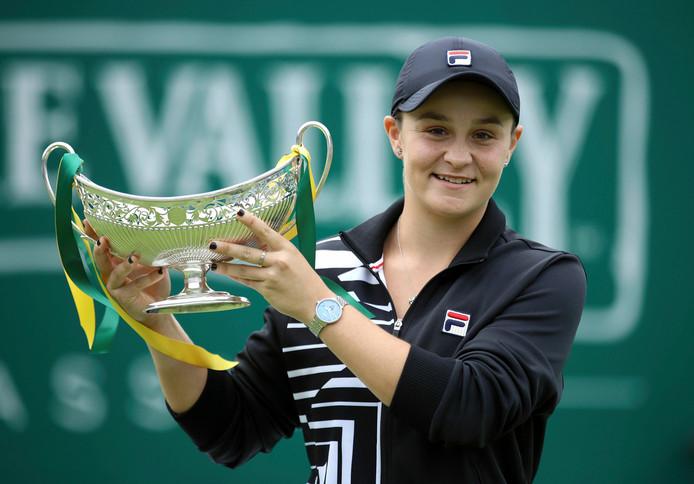Titrée à Birmingham, deux semaines après Roland-Garros, l'Australienne est en toute grande forme.