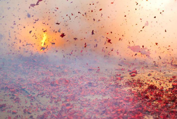 Knalvuurwerk en vuurpijlen zijn vanaf dit jaar verboden.